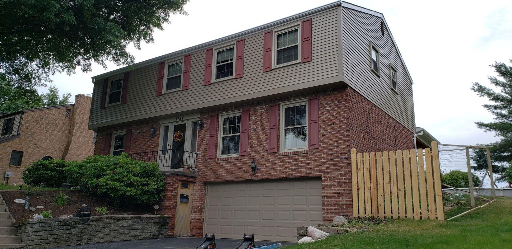 exterior painting Pittsburgh